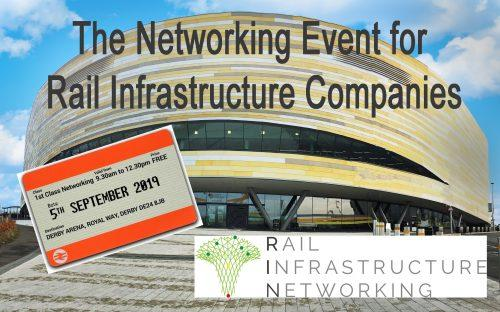 Our Sister Event – Rail Infrastructure Networking is Now Open for